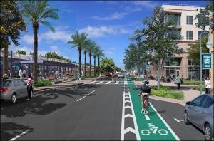 FEC Corridor Complete Streets Rendering