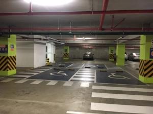 estacionamiento reservado accesibilidad universal