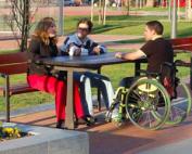 parque accesible
