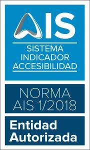 logo AIS - sistema indicador de accesibilidad. Entidad Autorizada
