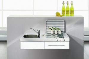 mini cocina accesible