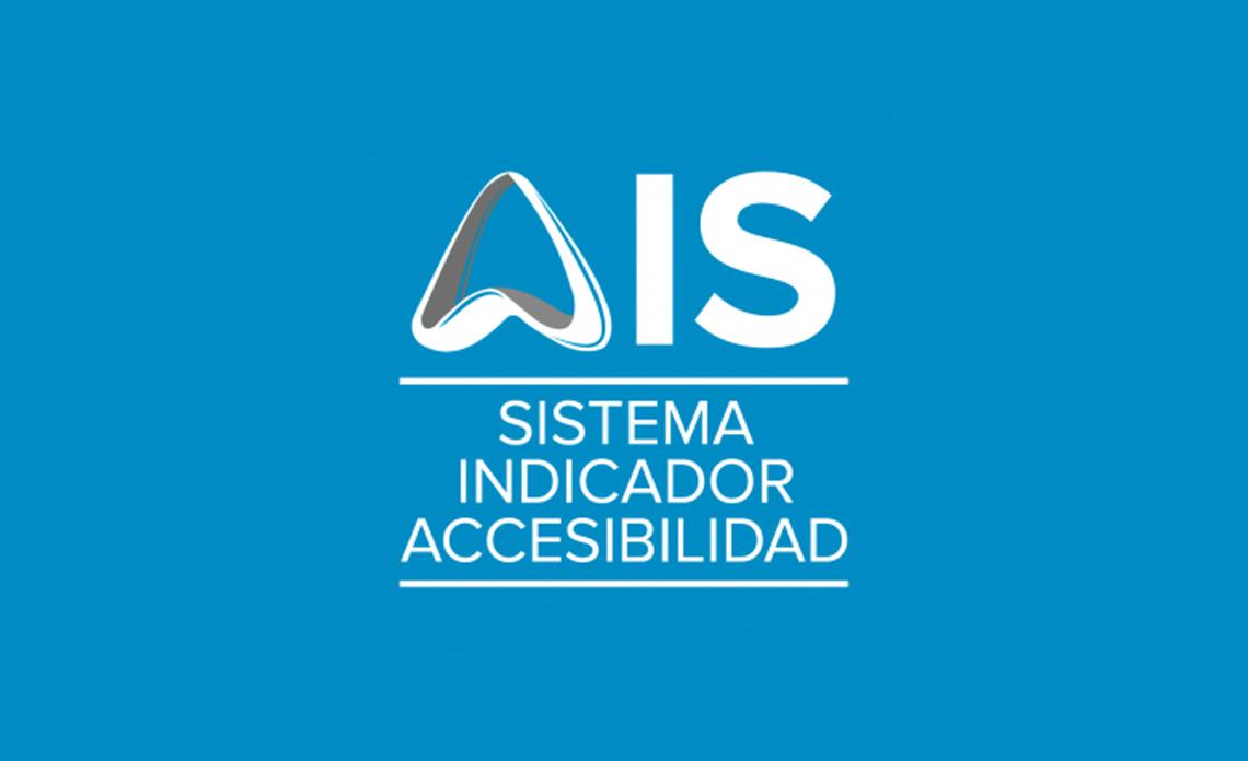 AIS sistema indicador de accesibilidad
