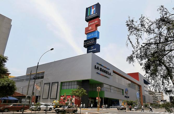 Imagen del mall La Rambla Brasil