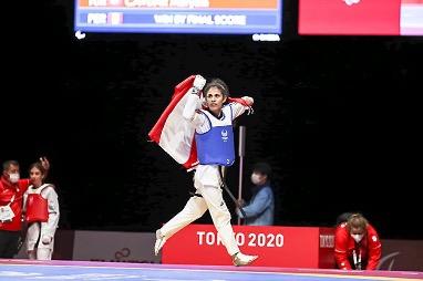Angelica Espinoza medalla de oro